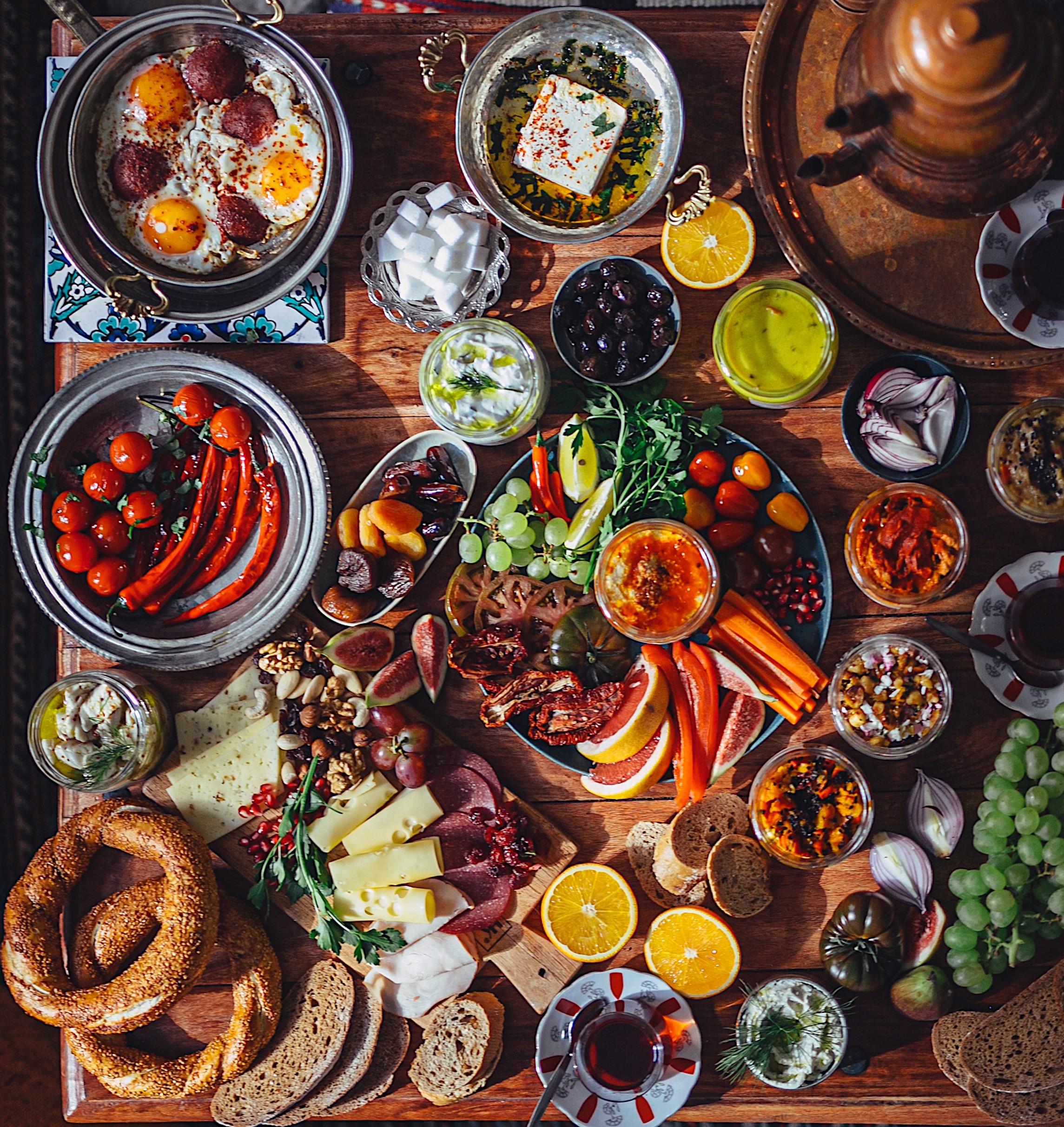 Türkisches Abendbrot